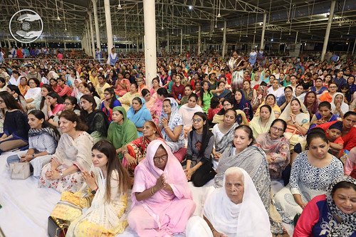 A view of Satsang during Vichar