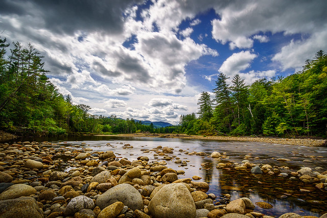 Summer afternoon on the Saco River