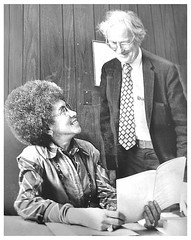 New city council member Hilda Mason with husband: 1977