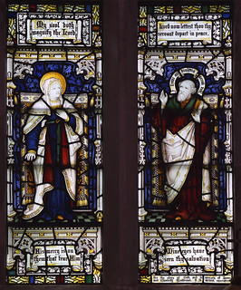 Droxford, Hampshire, St. Mary & All Saints, south aisle, west window