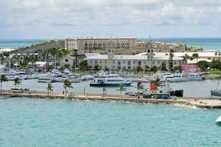 Bermuda - Royal Naval Dockyard - Clocktower Mall