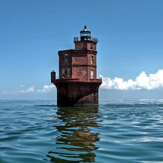 Wolf Trap Lighthouse-Chesapeake Bay-Mathews Virginia 9976