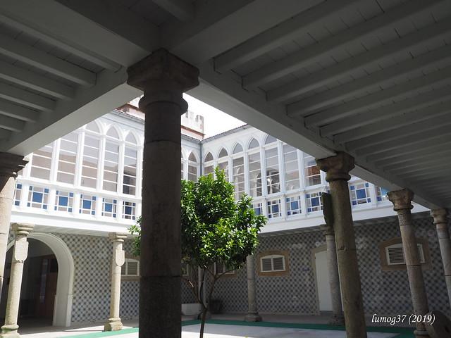 Patio del Pazo de la Marquesa.