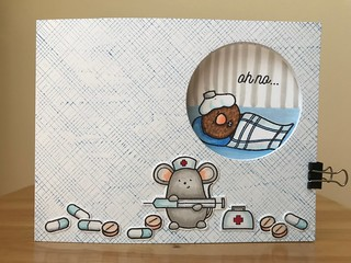 Oh no...(Peek-a-boo Card) Front