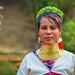 Long Neck Kayan Woman - Ben Heine Photography
