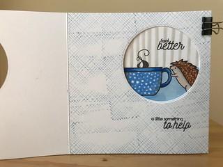 Oh no...(Peek-a-boo Card) Inside