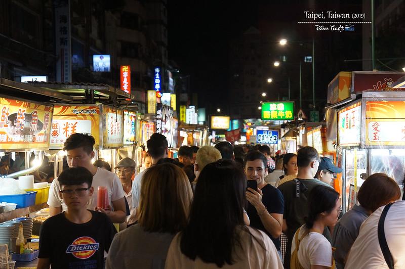 2019 Taiwan Taipei Ningxia Night Market