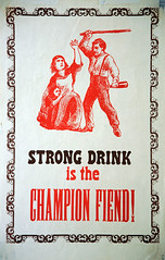 Strong Drink Is The Champion Fiend!