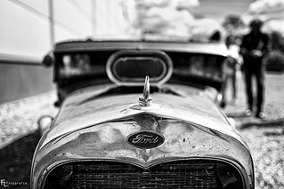 Ford Rat Rod in  Black & White | by Silbersurfer