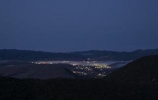 San Luis Obispo Coming Awake in the Early Morning