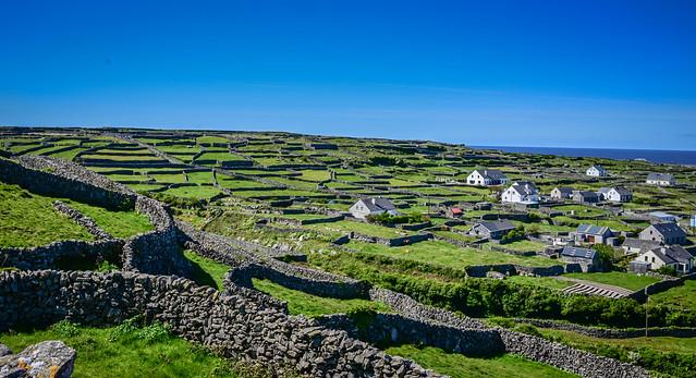 Landscape on Inisheer Aran Islands Ireland