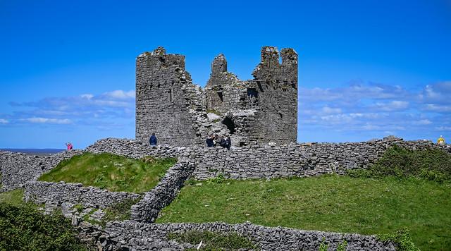 Caislean Ui Bhriain Castle on Inisheer Aran Islands Ireland