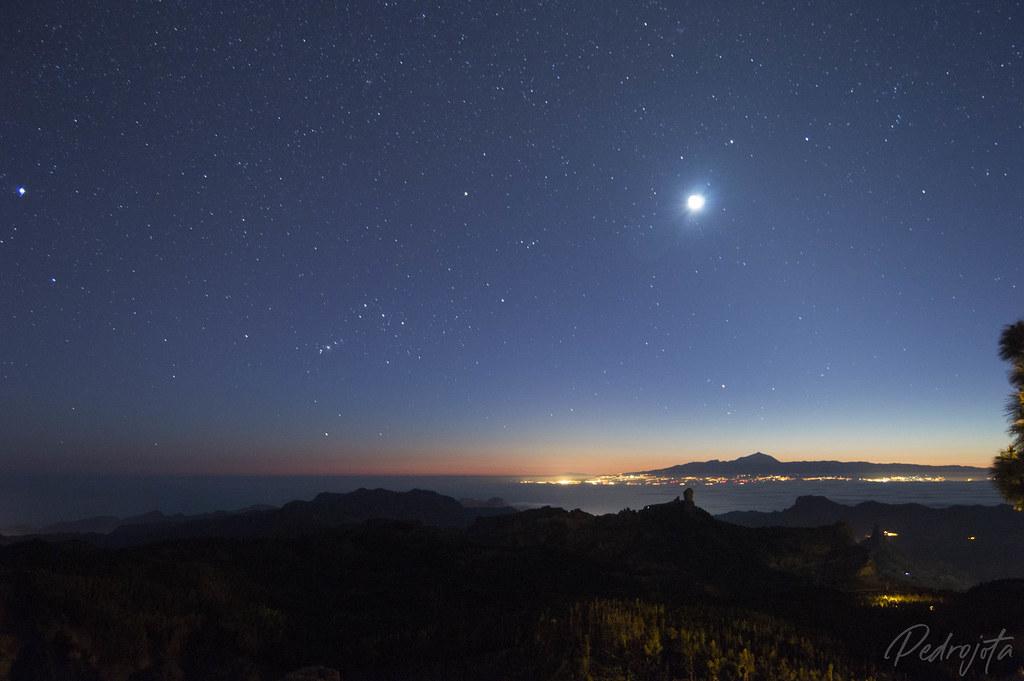 Cumbre de Gran Canaria y Tenerife