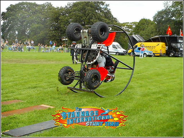 Quad Bike Stunt Rider .,