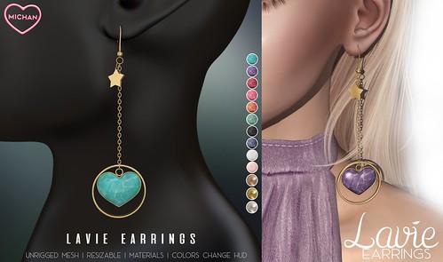 Lavie Earrings @ Whimsical
