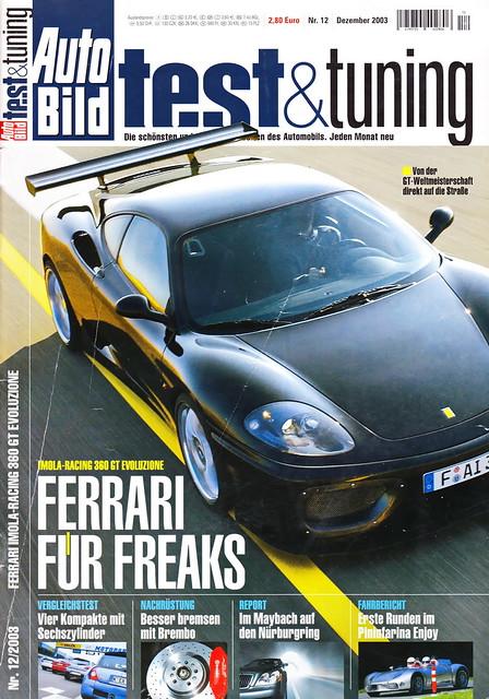 Auto Bild Test & Tuning 12/2003