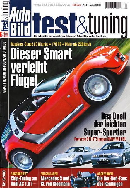 Auto Bild Test & Tuning 8/2003