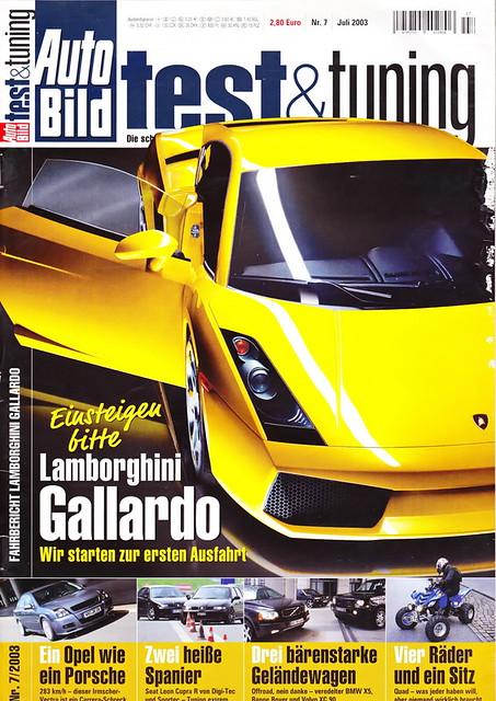 Auto Bild Test & Tuning 7/2003