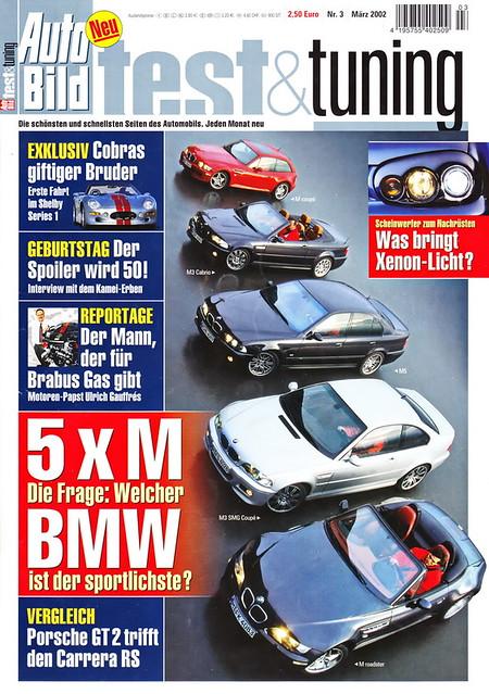 Auto Bild Test & Tuning 3/2002