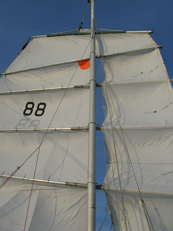 284.  Cross Channel - enjoying the sailing