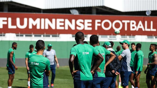 Treino do Fluminense - 17/08/2019