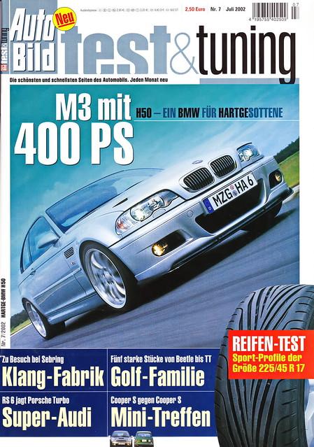 Auto Bild Test & Tuning 7/2002