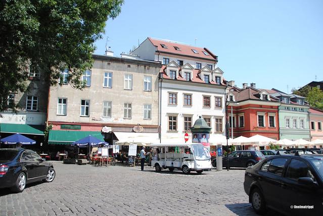 Kazimierzin katunäkymää