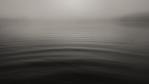 fog mist wave waves sea arch dark night outdoors scenery seascape helsinki finland suomi void space solemn tranquil tranquility quiet peaceful restful placid sedate monochrome
