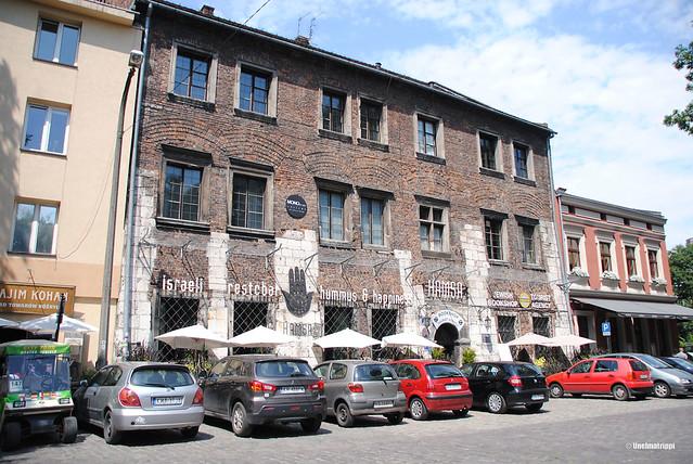 Rappioromanttisesti ränsistynyt talo Kazimierzissä
