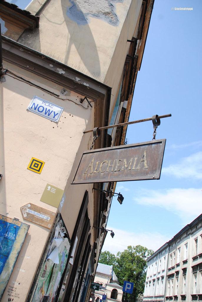 Alchemia-baari Kazimierzissä
