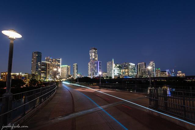 Austin During Evening Twilight