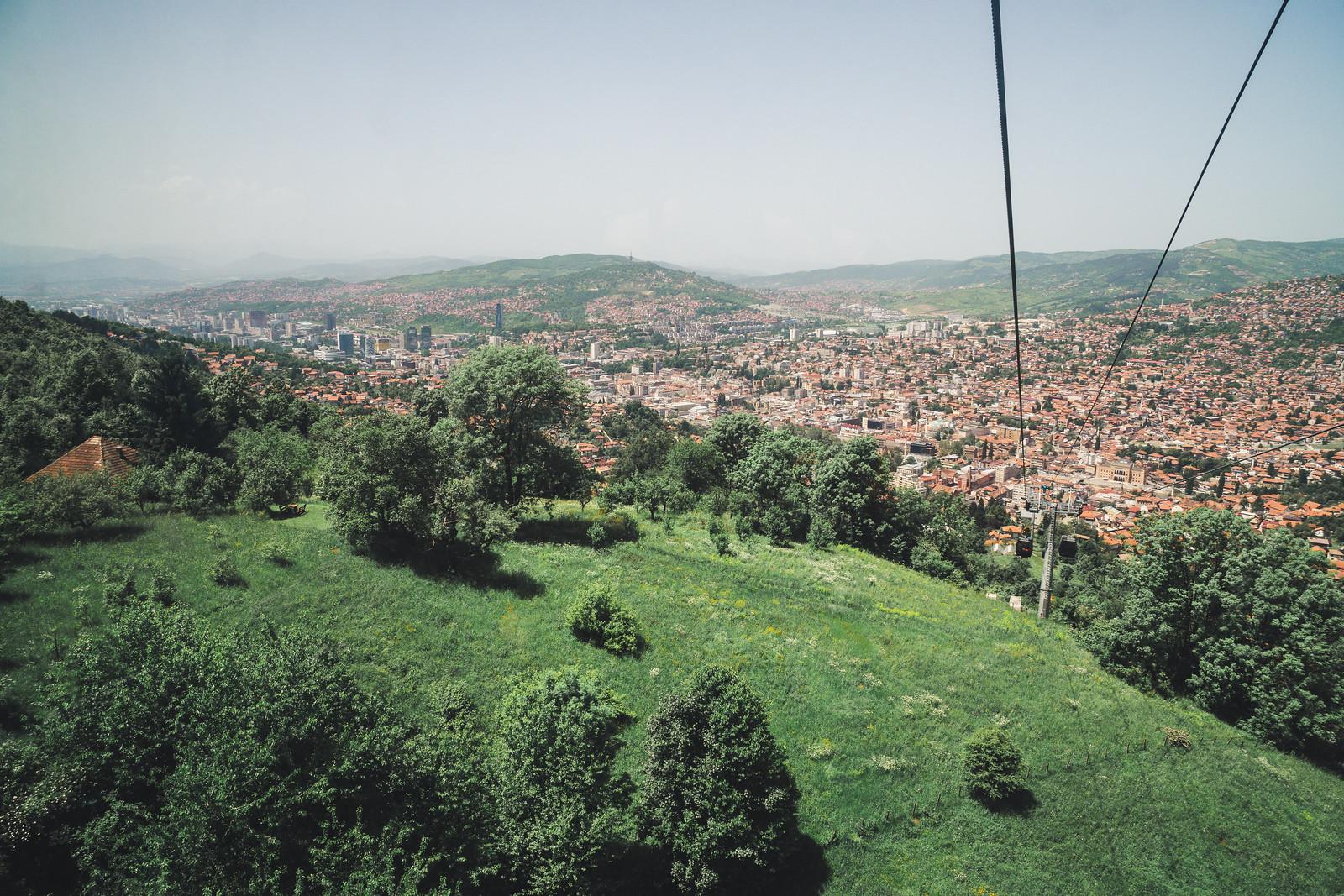 Sarajevo yläilmoista