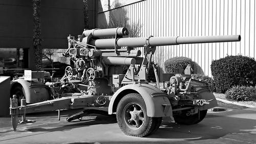 German 88 mm FlaK 36 Anti-Aircraft Gun