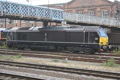 """DB Cargo Royal Class 67 - 67005 """"Queen's Messenger"""""""