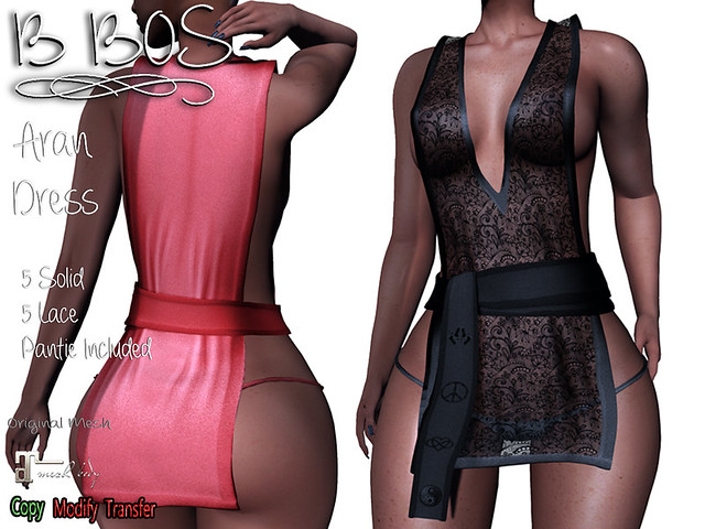 B BOS - Aran Dress -