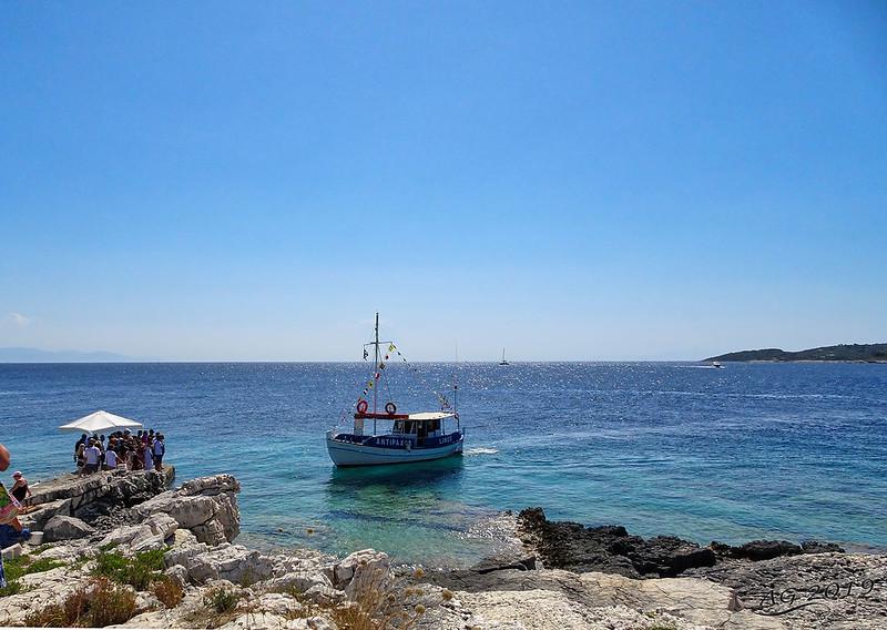 Port of Virgin Mary's Island, Paxos