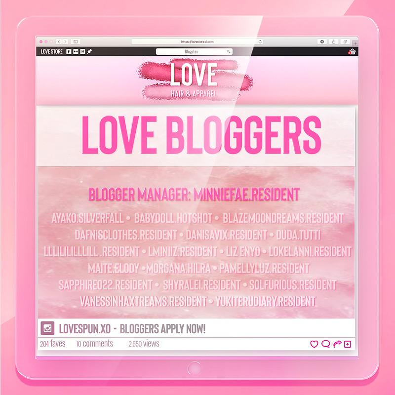 LOVE - Bloggers