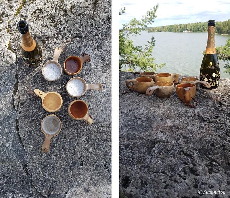 Tuusulanjärvi, skumppaa kuksasta