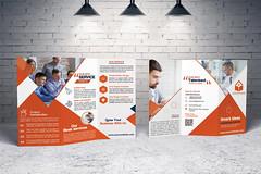 brochure design, trifold, bifold, flyer, catalog, booklet