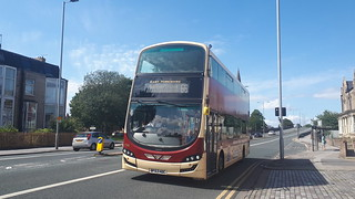East Yorkshire Motor Services Volvo B5TL Wright Gemini 3 BF63 HDC 796