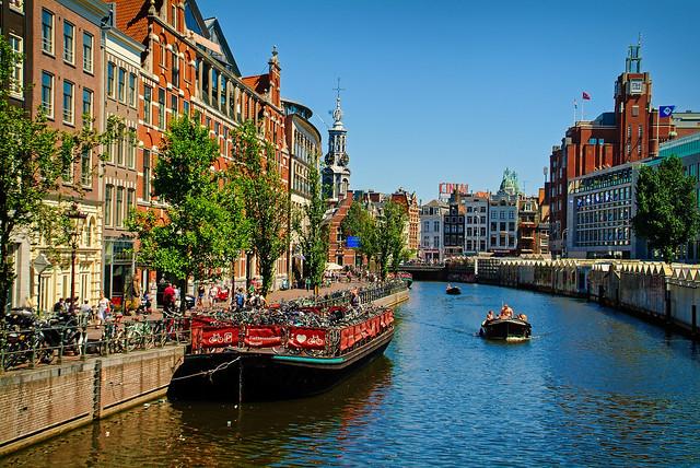 Colorful Amsterdam cliché
