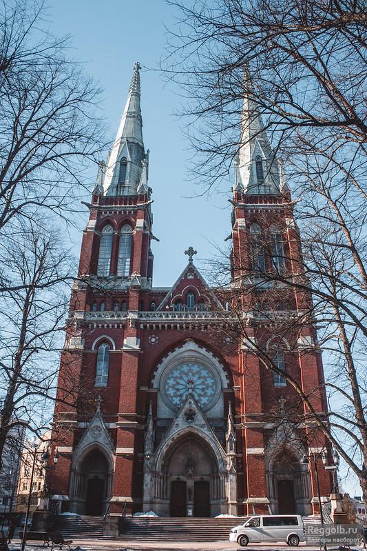 Хельсинки Johannes Church картинка