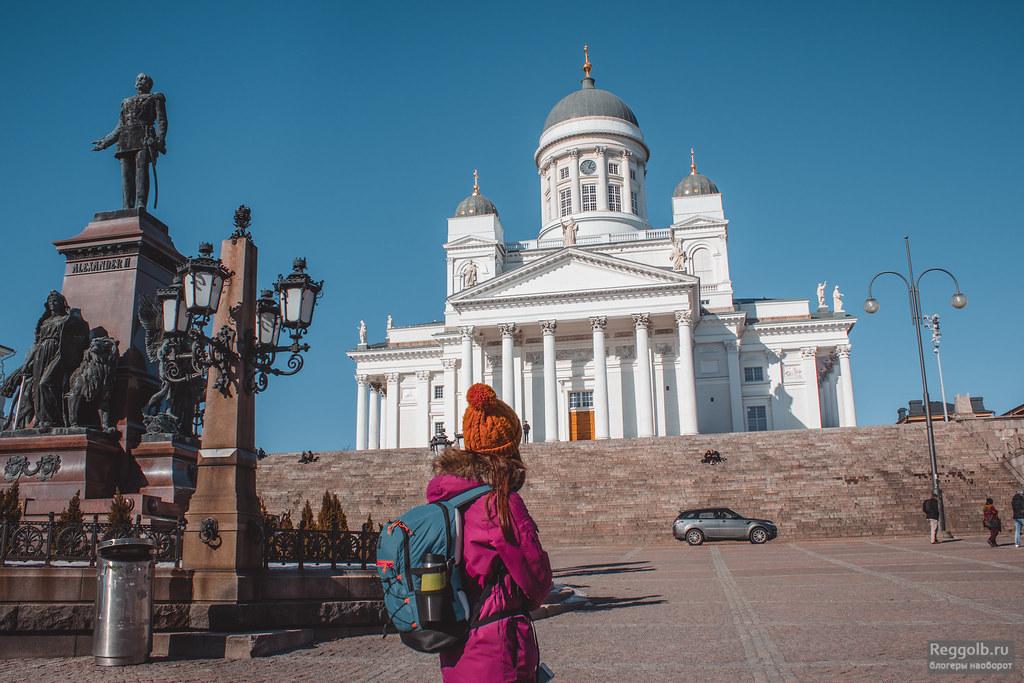 хельсинки кафедральный собор фото