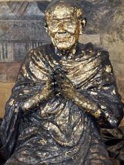 Estatua de Buda en el templo Wat Pho, Bangkok, Tailandia