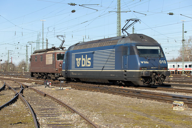 BLS 465 010 + 425 191 Basel Bad