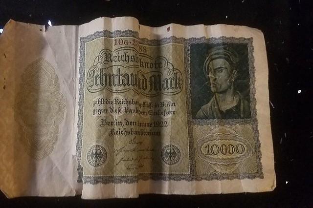 10000 Reichsmark note