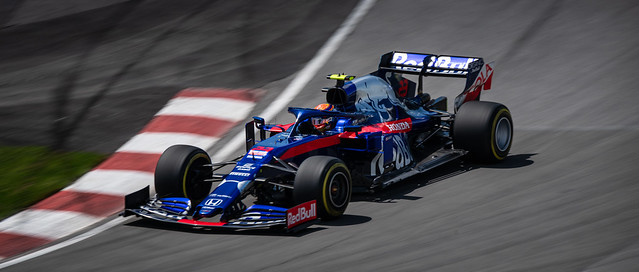 Alexander Albon - Car 23 - STR14 - Toro Rosso