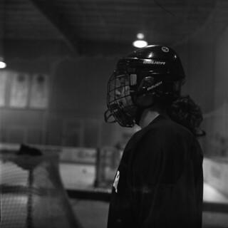 The Hockey Player