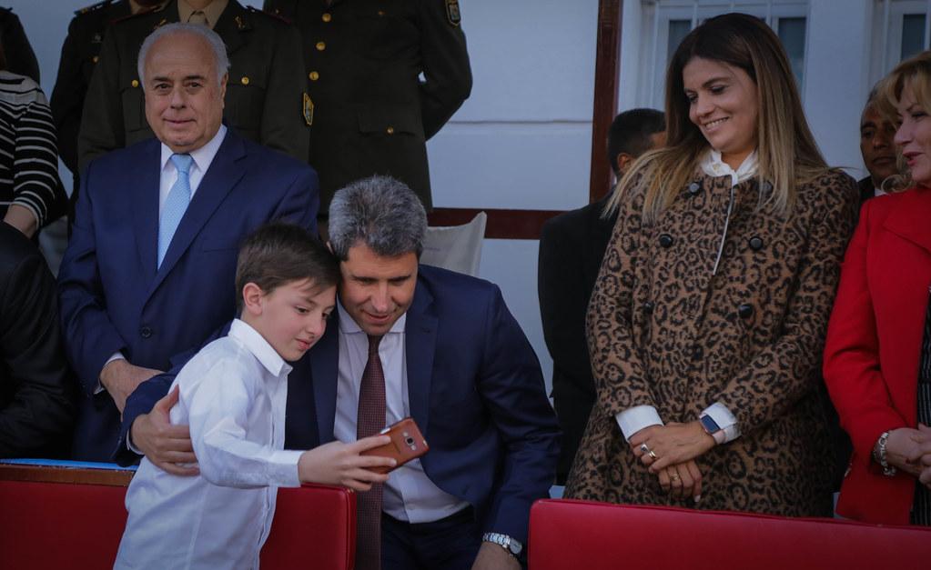 2019-08-17 PRENSA: Desfile en Albardón por el 169º Aniversario del Fallecimiento del General José de San Martín