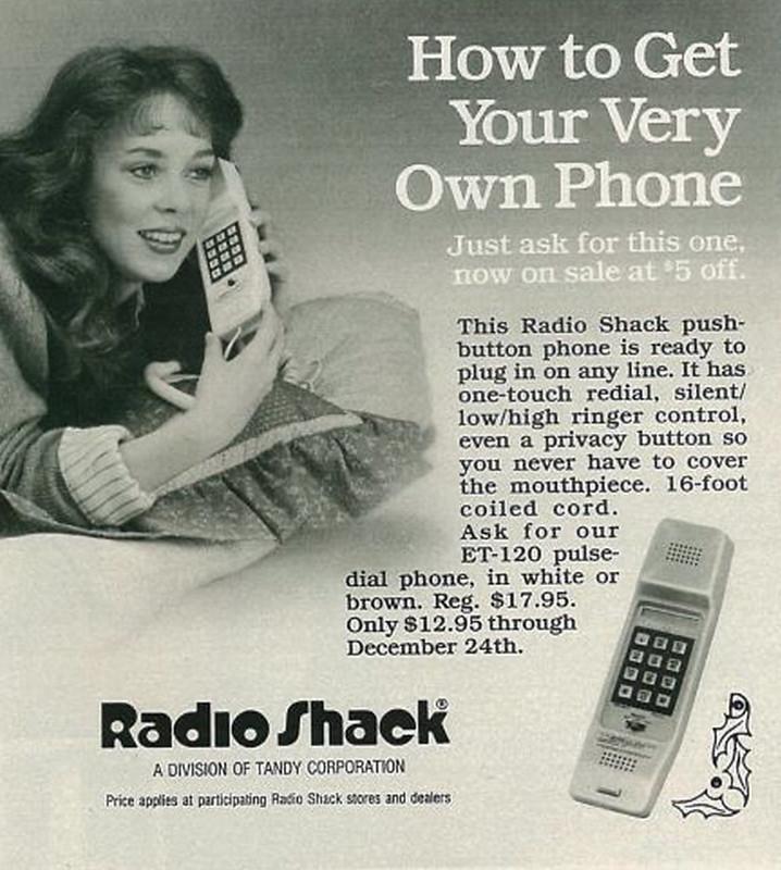 Radio Shack 1985